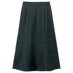 シルエットの美しいフレアースカート