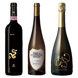 ピッツァに合わせるカンパーニアのワイン/3本セット