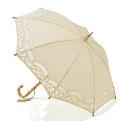 バテンレースの日傘