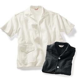 ジャカード編み・ビーチシャツ