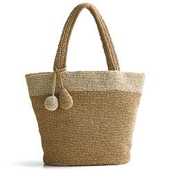 手編みトートバッグ