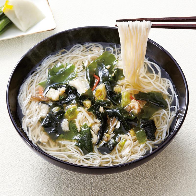鳥菜にゅう麺 坂利製麺所 食品 【ライトアップショッピングクラブ】