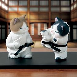 ネコの挑戦/空手