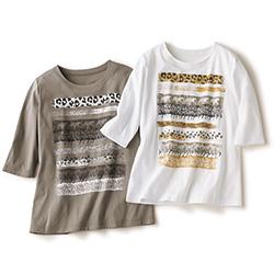 アニマル柄Tシャツ