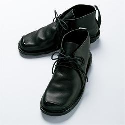 牛革ブーツ