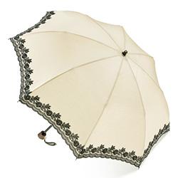 刺しゅう入り/折りたたみ晴雨兼用傘