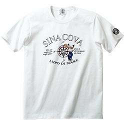 羅針盤モチーフTシャツ