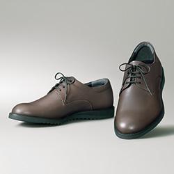 快適フィットのスマート靴/プレーントウ