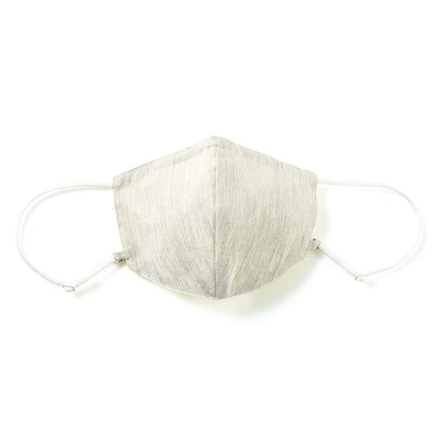 肌面シルクの洗えるマスク/2枚セット