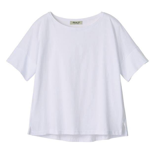コットン・ワイドTシャツ