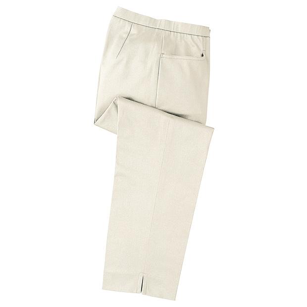 ストレッチ・八分丈パンツ