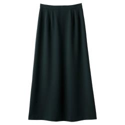 定番ロングセミフレアースカート