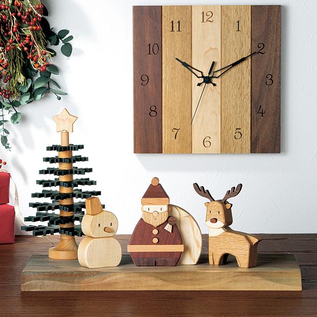 ウッディクラフト「クリスマス」
