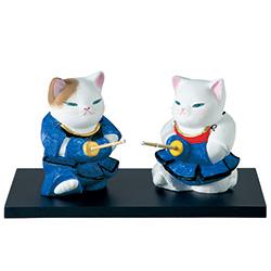 ネコの勝負/剣道