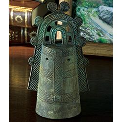 銅鐸(古銅仕上げ)