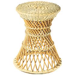 籐製鼓椅子