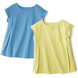 フレンチスリーブコットンTシャツ