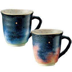 手波型マグカップ「宇宙への誘い」
