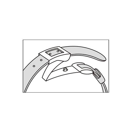 ルキア/ソーラー電波チタンレディスウオッチ/クロコダイルバン