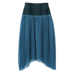コクーンプリーツスカート
