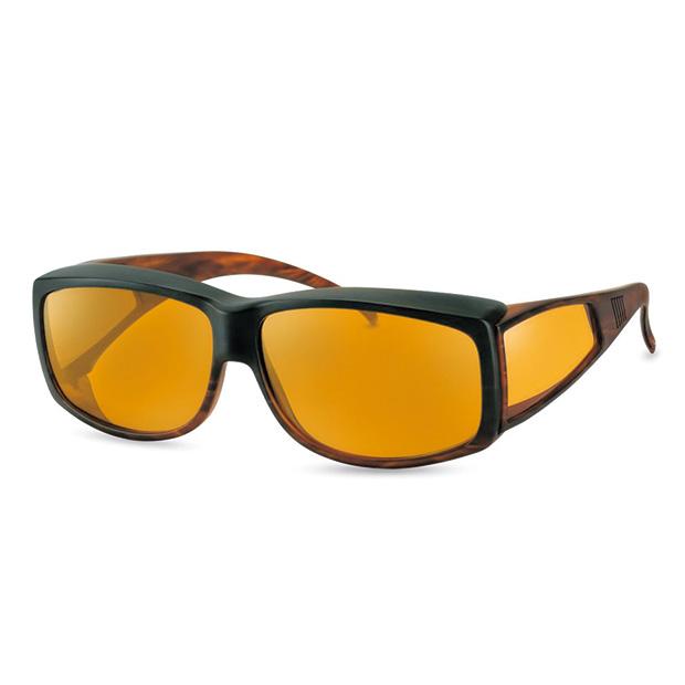 機能性オーバーサングラス/ウェルネス プロテクト/偏光レンズ