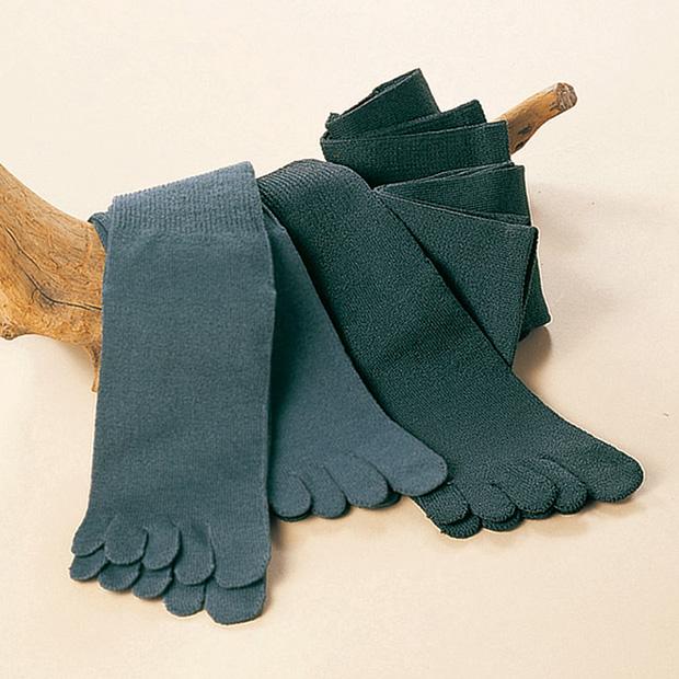 5本指靴下メンズ/5足セット