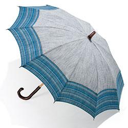 会津木綿の晴雨兼用日傘