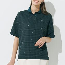 遮熱素材のポロシャツ