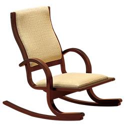 楽座椅子/コンパクト・ロッキングチェア