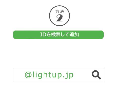 方法2 IDを検索して追加